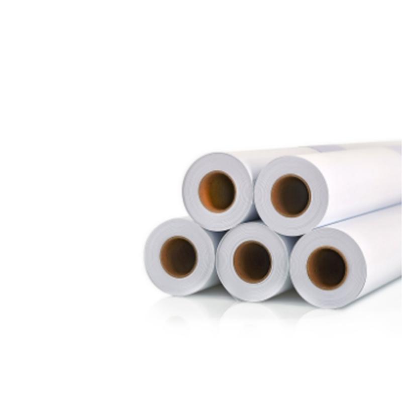 Rollo de papel tecnico de primera calidad para la impresion en plotter de planos arquitectura y patronaje