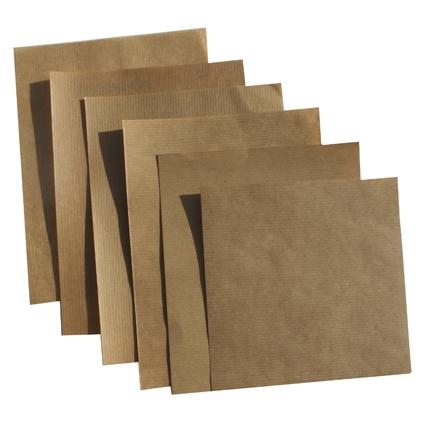 Papel para embalaje industrial, relleno, fabricacion bolsas kraft marrón verjurado