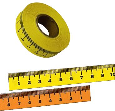 cintas métricas adhesivas