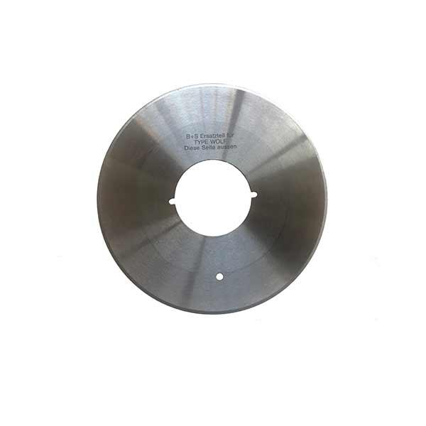 Cuchilla circular para máquina corte wolf