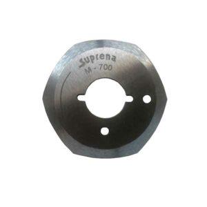 cuchilla hexagonal máquina suprena M700