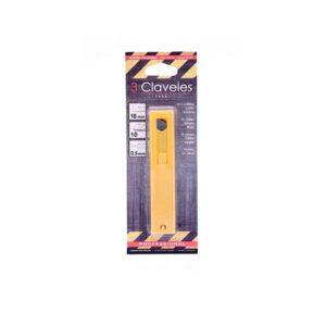 cuchillas alto rendimiento 18mm blister frontal
