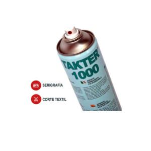 spray adhesivo serigrafia takter 1000