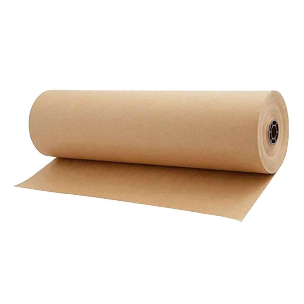 Papel kraft marron reciclado embalaje, patrones, corte tejidos, bolsas
